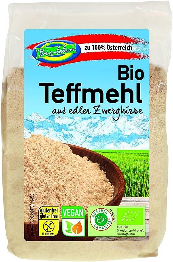 Harina de teff austriaca ecológica, sin gluten 1,8kg Bio ...