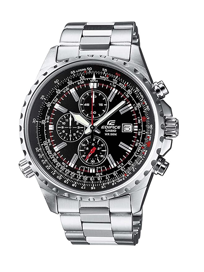 Amazon.com  Casio Mens Edifice Chronograph Watch EF-527D-1AVEF  Watches 35df086528