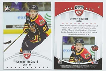 2014 15 Leaf Itg Top Prospect Young Stars Connor Mcdavid