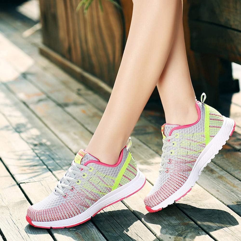 Posional Zapatillas Deporte Hombre Zapatos para Correr Athletic Cordones Air de Moda Beathable Zapatos de Malla Zapatos Casuales sin Cordones: Amazon.es: Oficina y papelería