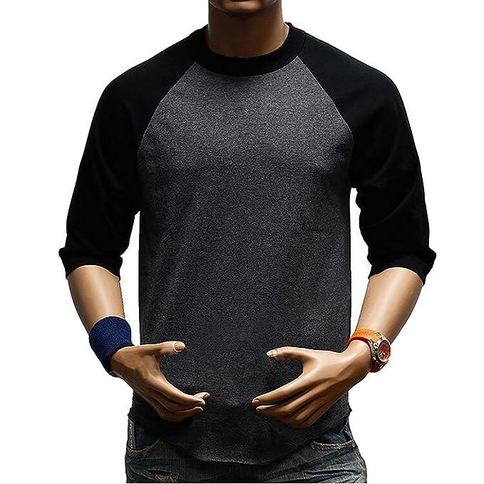 4e4bff9746 SBOYS Camiseta de béisbol para Hombre