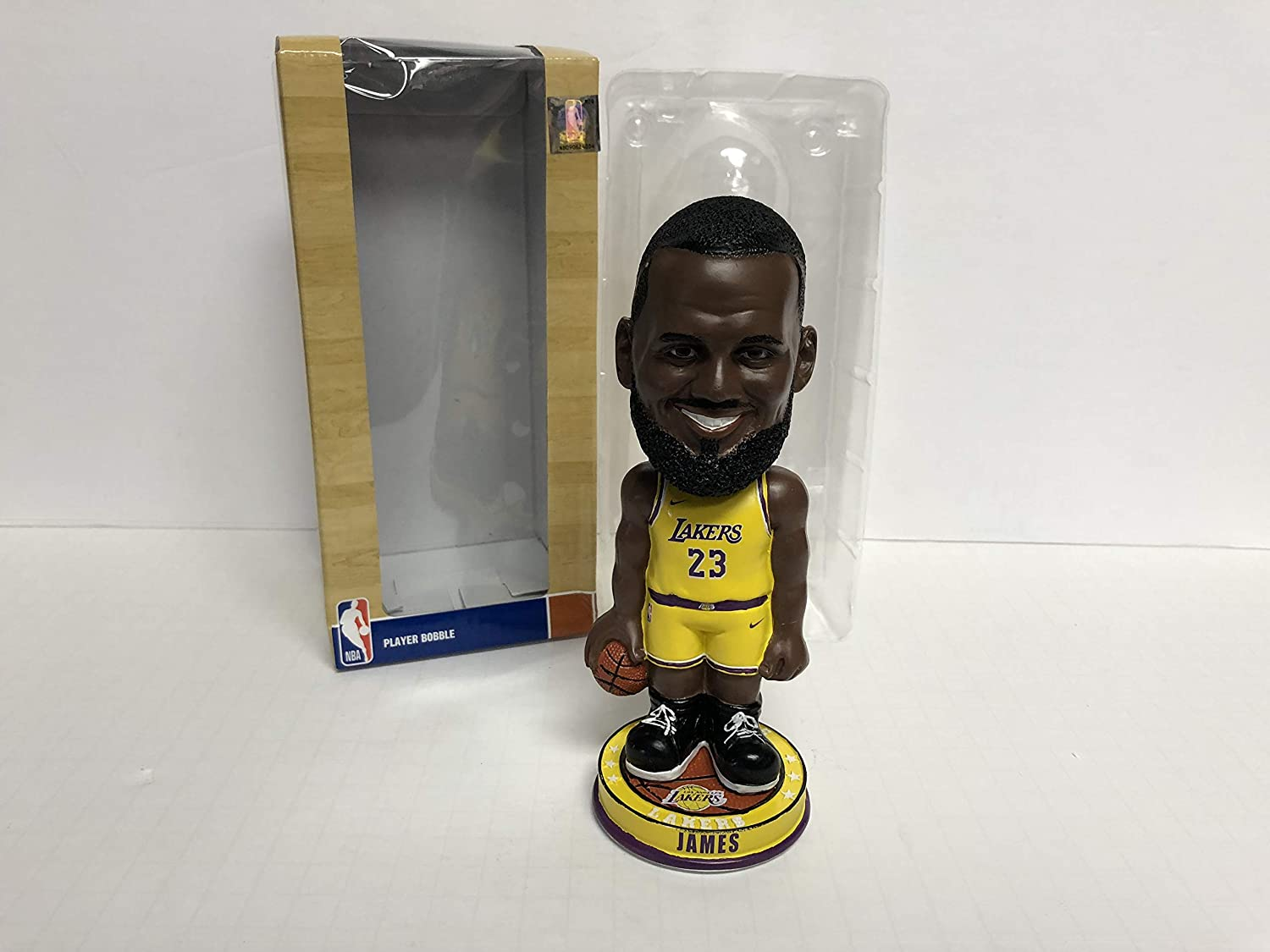 Lebron James 2018 Los Angeles Lakers Limited Edition Bobble Bobblehead 1/720