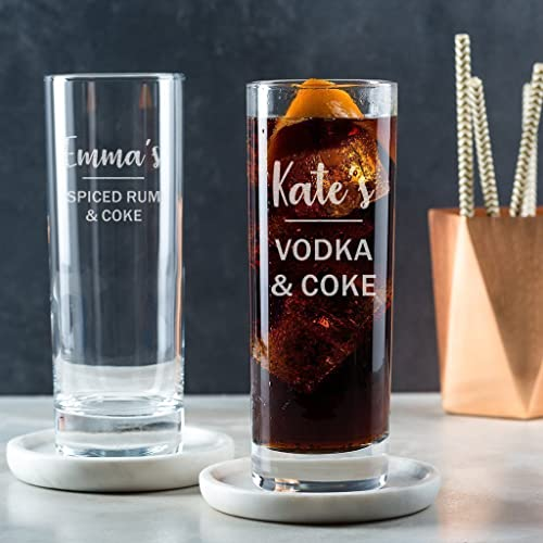 Amazon Personalised Highball Glass Alcohol Gifts For Women