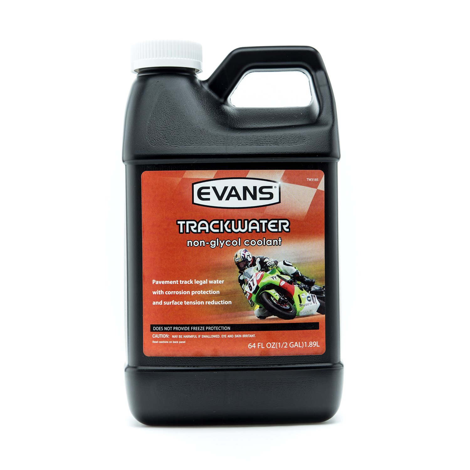 EVANS Cooling TW10064 TrackWater Powersports Non-Glycol Engine Coolant, 64 fl. Oz.