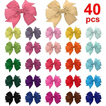 Glitter Shiny Polkadot Alligator Clip Halloween Pack Of Hair Bows Girls Cheapest Price From Our Site