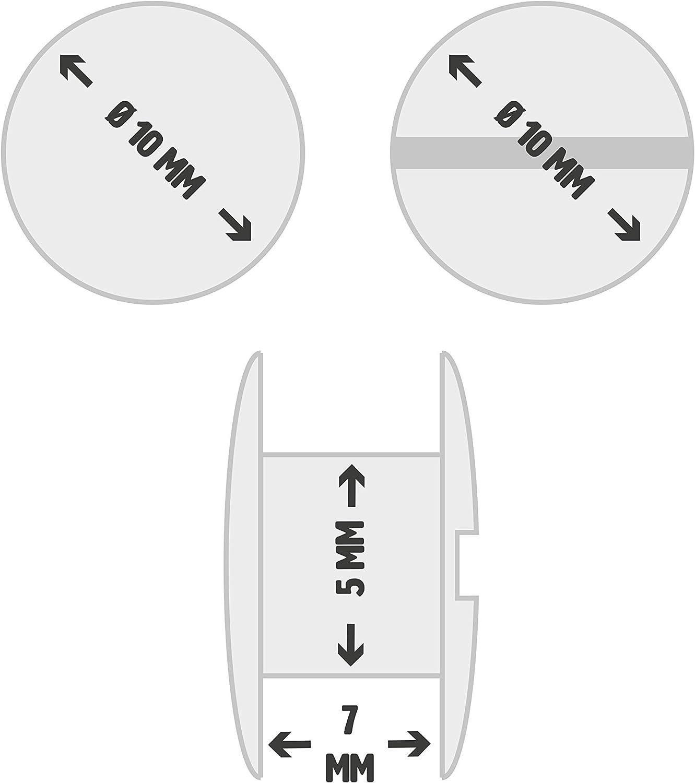 centro del orificio de 10,16 cm Basics AB1503-OR-10 Tirador de armario en forma de barra Oil Rubbed Bronze 16,2 cm de longitud Bronce antiguo tipo europeo