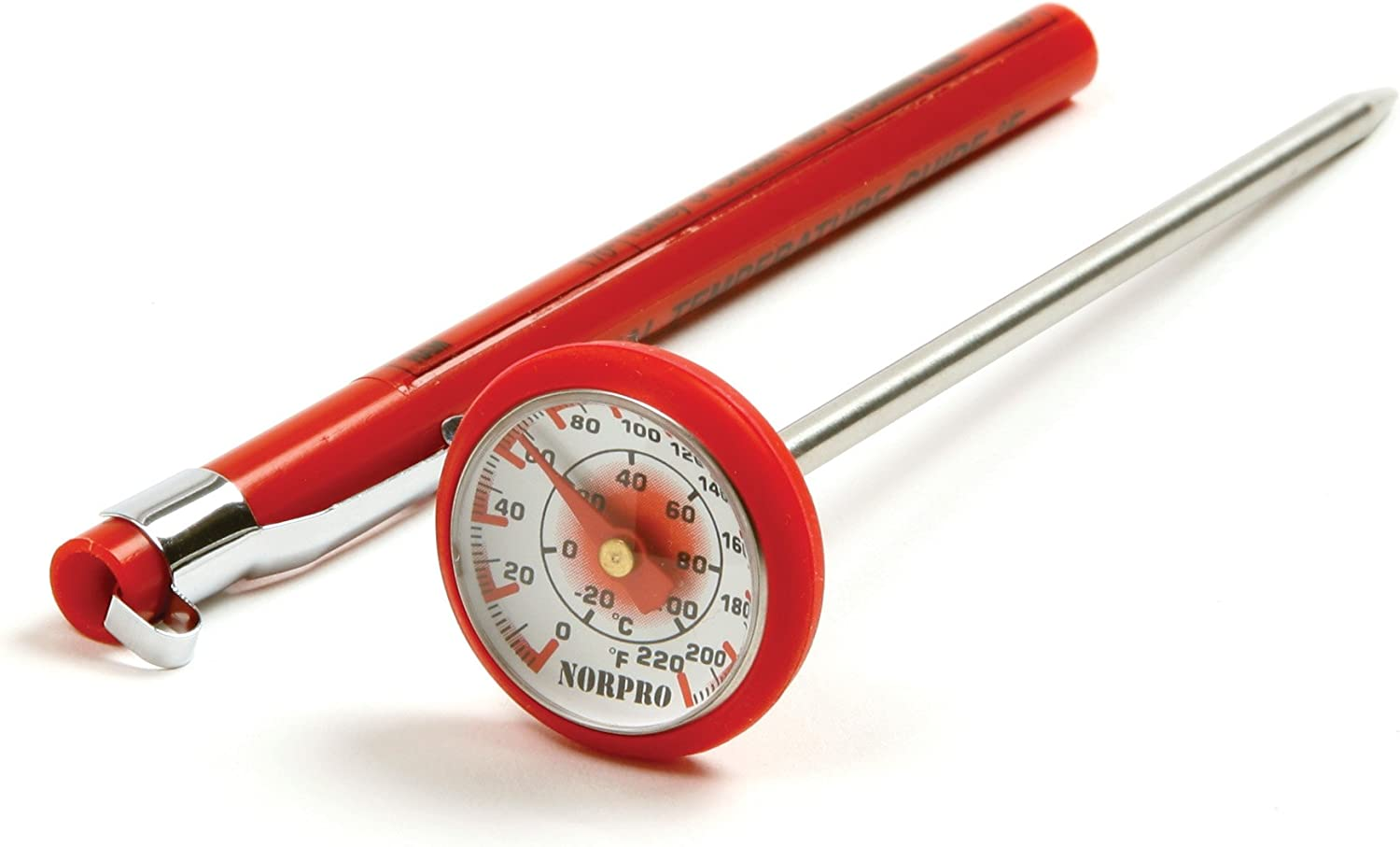 Norpro 5970 Soft Grip Silicone Instant Read Thermometer