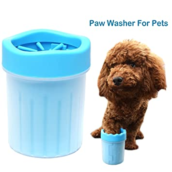 Amazon Com Pet Paw Cleaner Dog Foot Washer Cup Portable Outdoor