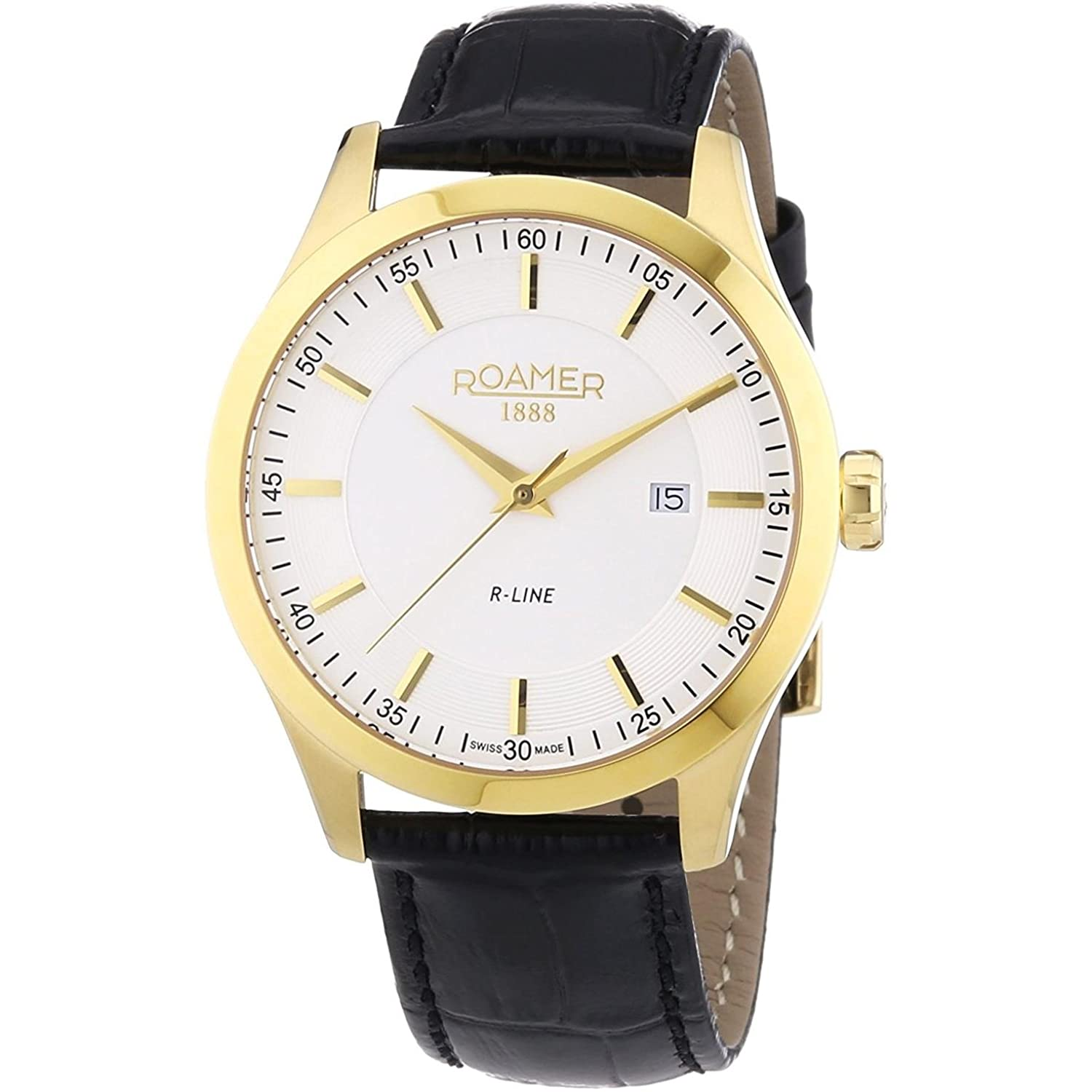 ROAMER OF SWITZERLAND HERREN-ARMBANDUHR 40MM QUARZ 943856 48 25 09