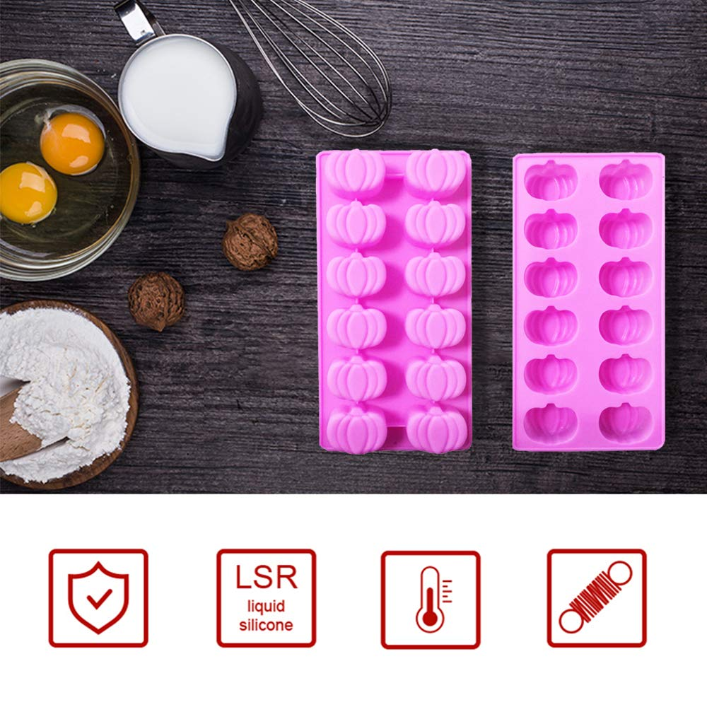 Halloween Party Ghost Silicone Mold Ice Cube Molds Set Of 3 Fondant Candy Mold