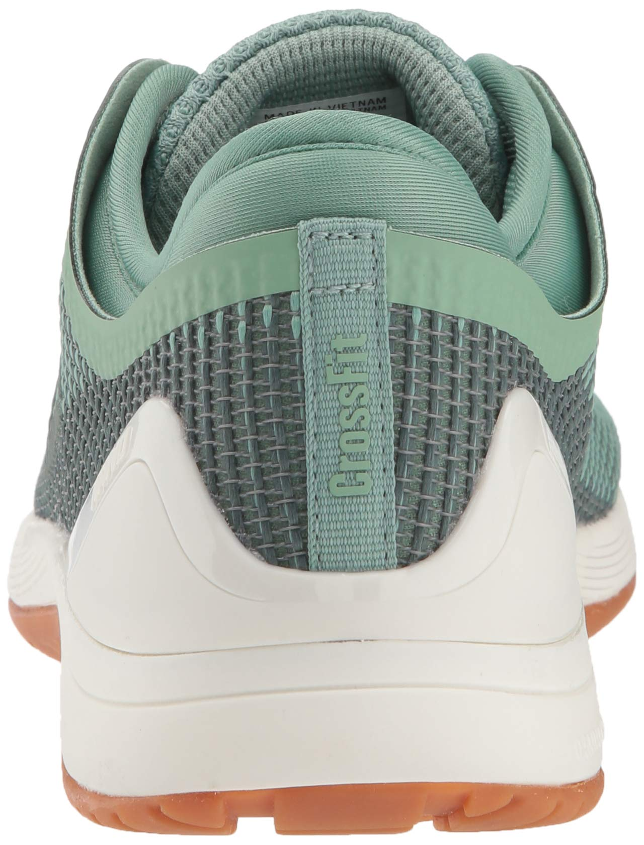 Reebok Women's CROSSFIT Nano 8.0 Flexweave Cross Trainer, industrial green/chalk grey, 5 M US by Reebok (Image #2)