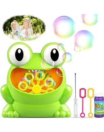 TedGem Máquina de Burbujas, Maquina Pompas de Jabon, Portátil Máquina de Burbujas Haga más