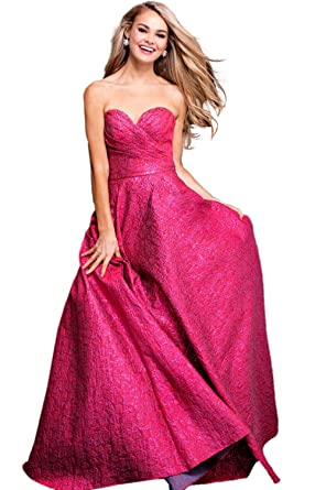 Jovani Prom 2018 Dress Evening Gown Authentic 45061 Long Red at ...