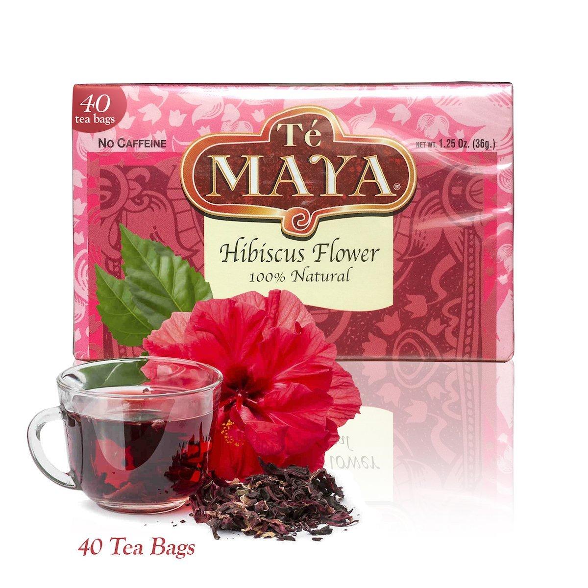 Amazon te maya hibiscus flower tea from guatemala 40 bags amazon te maya hibiscus flower tea from guatemala 40 bags grocery gourmet food izmirmasajfo