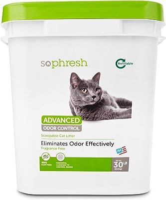 Advanced Odor Control Fragrance Free Cat Litter