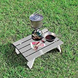 CAPTAIN STAG Aluminum Compact Outdoor Table M-3713