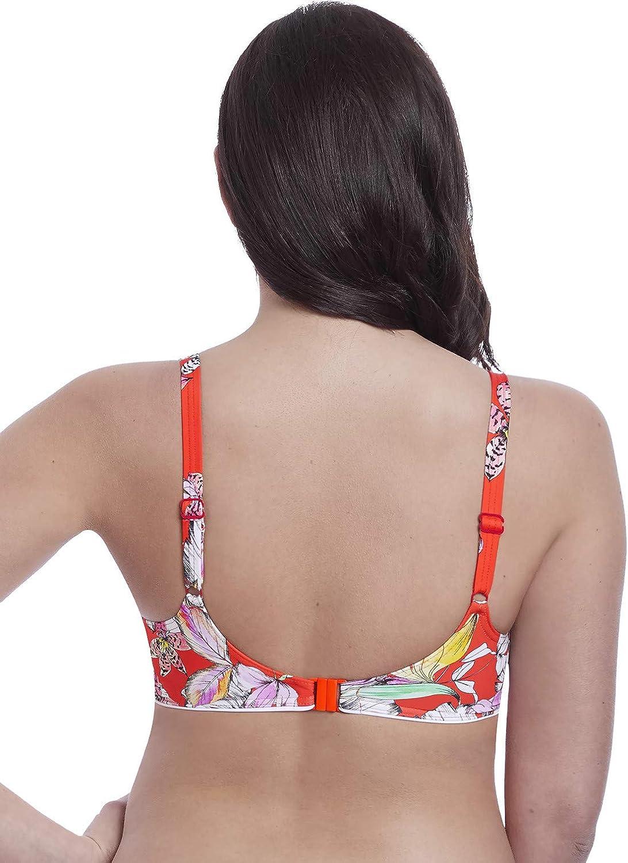 Wild Flower Deco Moulded Bikini Top