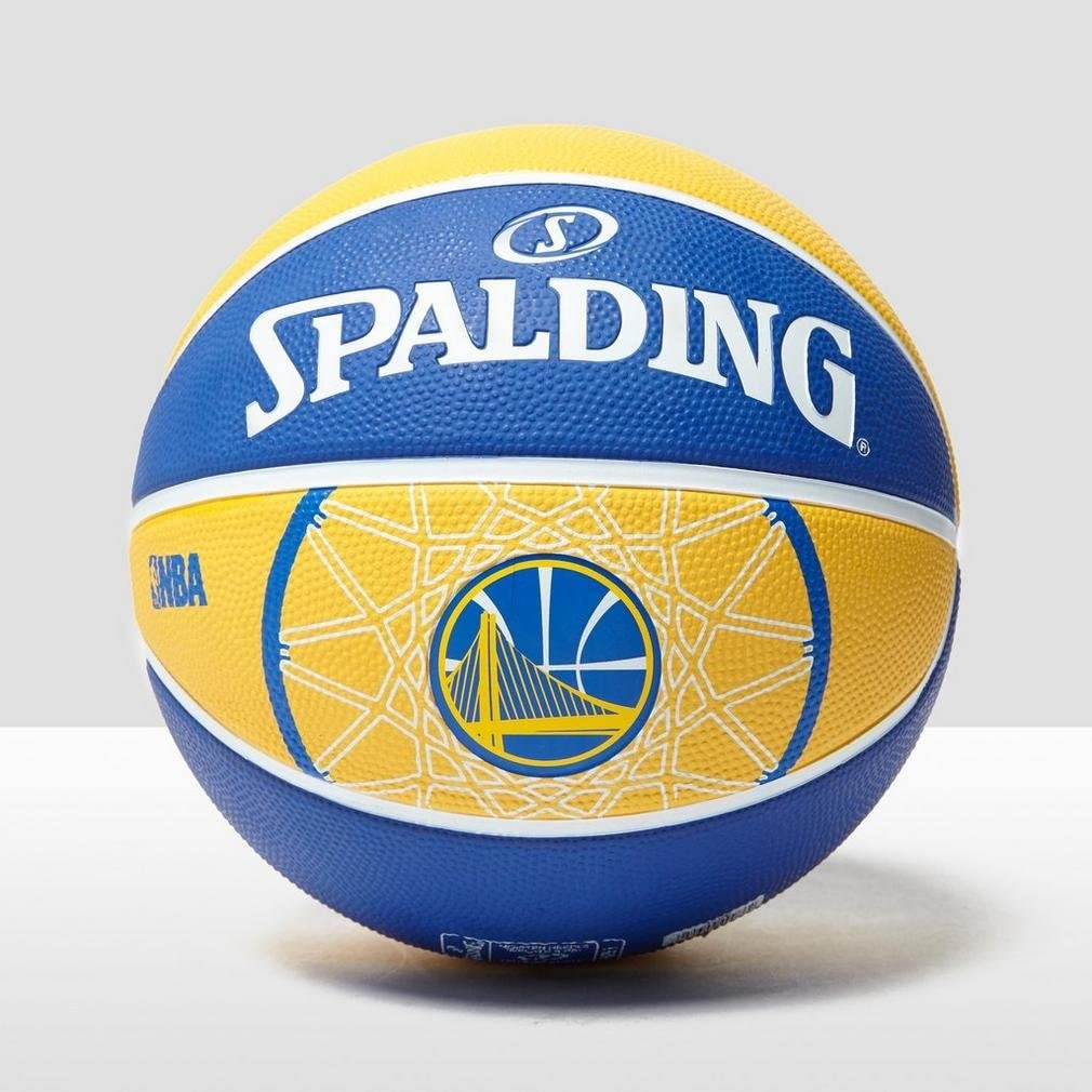Spalding NBA Team Golden State Baloncesto Amarillo, Azul/Blanco ...