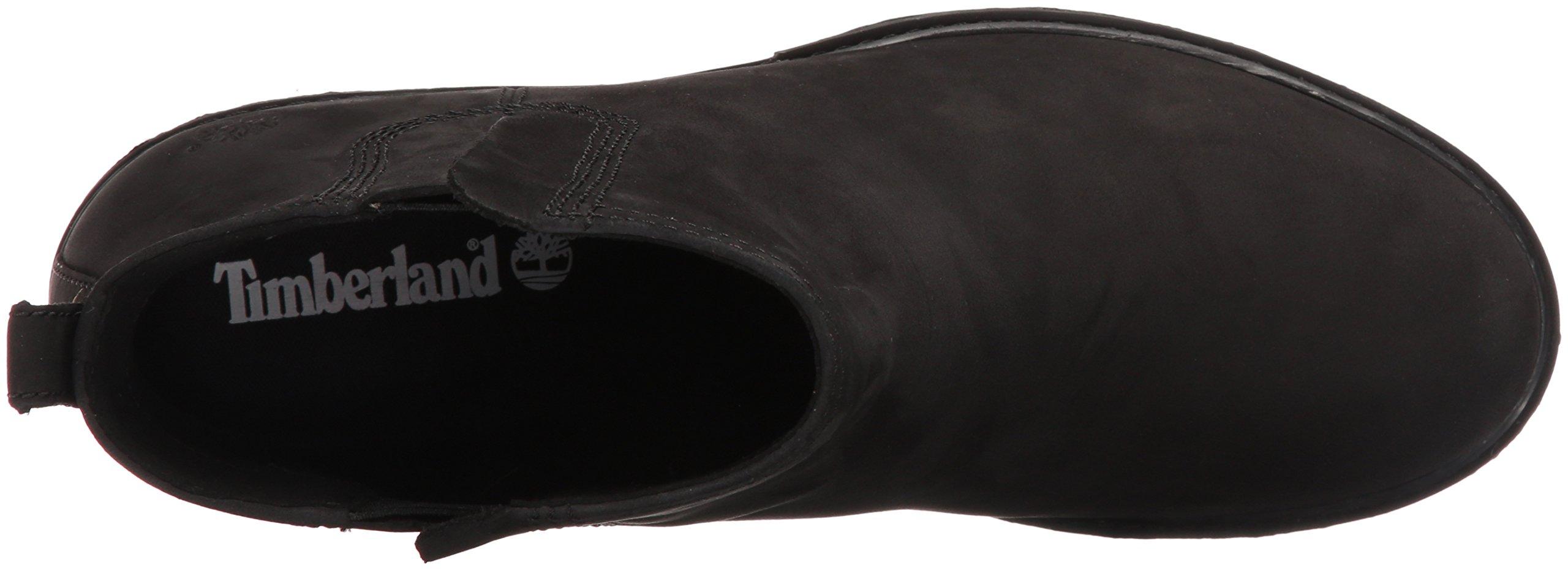 Timberland Women's Amston Chelsea Boot,Black Nubuck,9 M US by Timberland (Image #8)