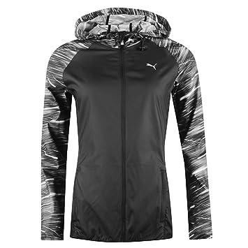 Puma NightCat Wind Cell Running Jacket Womens Black Jogging Track Top  Sportswear UK 10 (Small 5964b2a5d