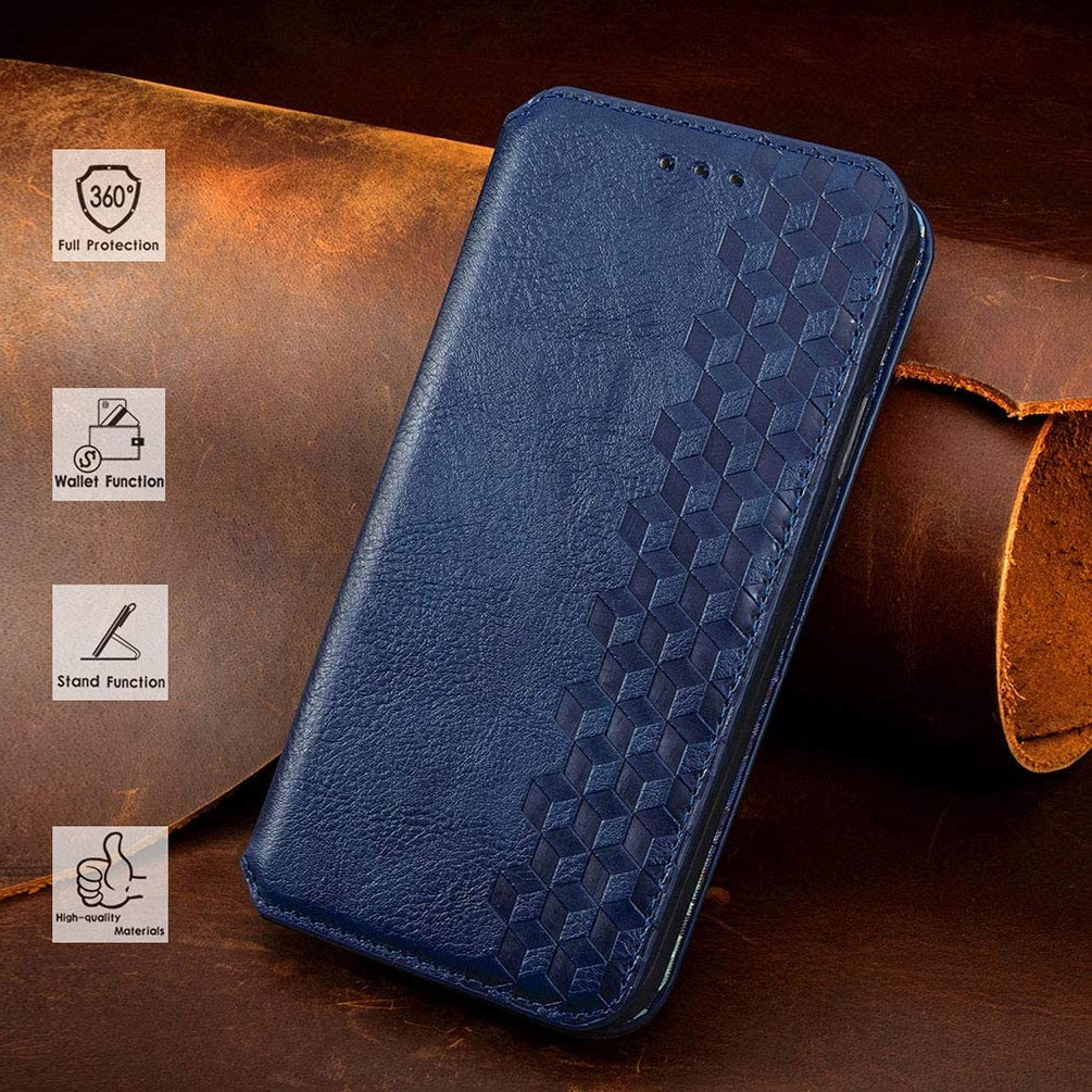Card Holder ID Slot Pocket Soft TPU Bumper Protective Case Black Connect Zone Leather Wallet Case Cover for Huawei P30 Slim PU Leather Flip Magnetic Stand