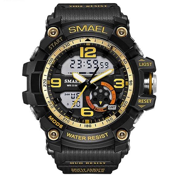 Daesar Reloj Hombre Moda Reloj Deportivo Reloj Multifunción Relojes LED Relojes Electronicos Reloj Hombre Reloj Impermeable