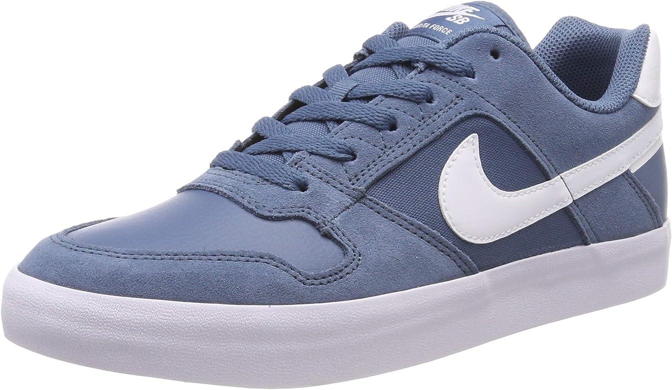 Nike SB Delta Force Vulc, Zapatillas de Running para Hombre, Multicolor (Thunderstorm/White 401), 41 EU: Amazon.es: Zapatos y complementos