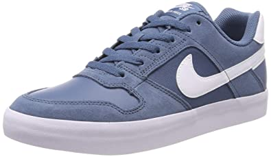 sale retailer 714b3 a67e6 Nike Men s Sb Delta Force Vulc Skateboarding Shoes, Blue (Thunderstorm White  401)