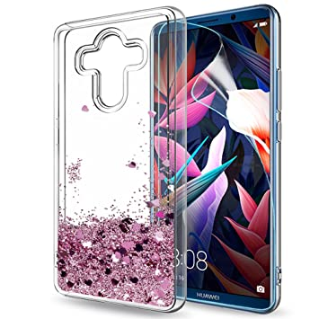 LeYi Funda Huawei Mate 10 Pro Silicona Purpurina Carcasa con ...