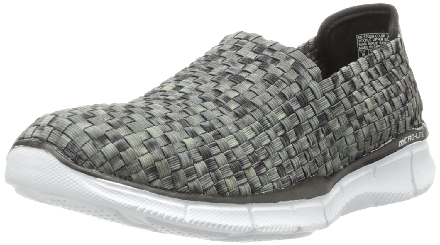 Skechers Damen Equalizer-Vivid Dream Sneakers  40 EU|Schwarz (Bkw)