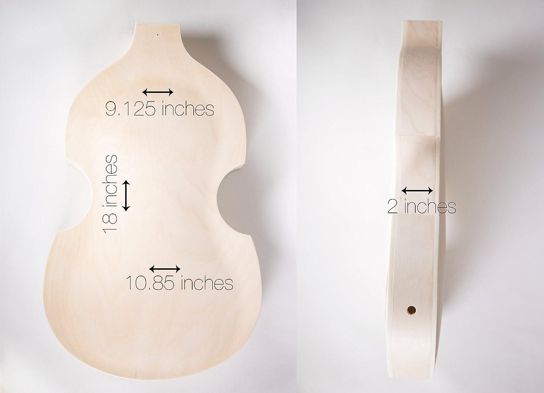 Marvelous Amazon Com The Fretwire Diy Electric Bass Guitar Kit Violin Bass Wiring Digital Resources Honesemecshebarightsorg