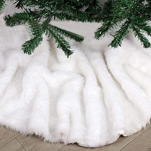 Deggodech Falda del árbol de Navidad Blanco 2018 Nuevo Christmas ...