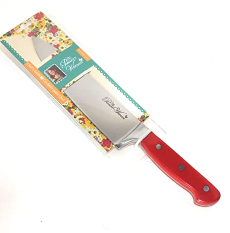 The Pioneer Woman Frontier Red Collection Chef Knife, 8 inch