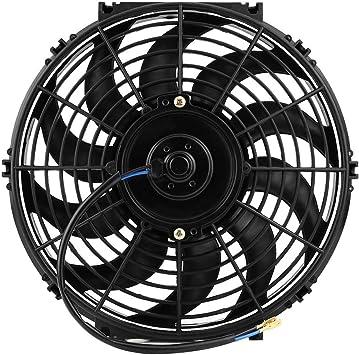 Riuty Ventilador de enfriamiento del Motor del Coche, Ventilador ...