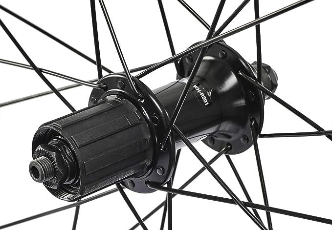 Shimano Juego de ruedas WH-R501 700C negro 2015 Juego de ruedas para bicicleta de carretera: Amazon.es: Deportes y aire libre