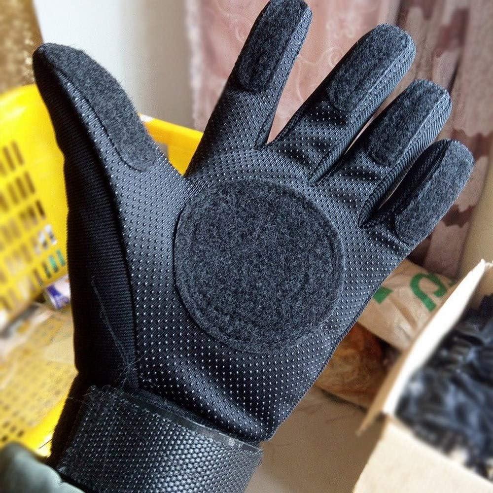 HHY Skateboard Handschuhe Slide Gloves Handschuhe Schutz Slide Gloves Ideal for Beginners f/ür Skateboarding und Skater Longboard Handschuhe Protektor Armschutz Dickere