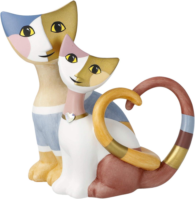 Katze Wachtmeister Rosina Tasche Brunello naive Kunst Romantik beige