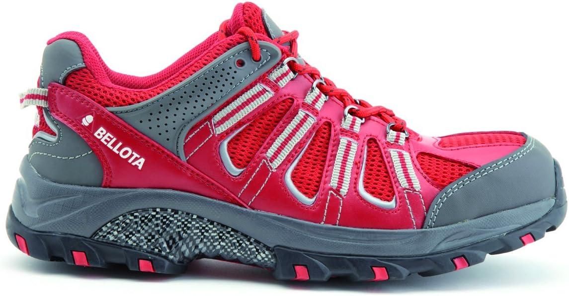 Bellota 72211R-41 Zapato Trail Rojo S1P, Talla 41: Amazon.es: Bricolaje y herramientas