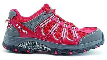 Bellota 72211R-46 Zapato Trail Rojo S1P, Talla 46