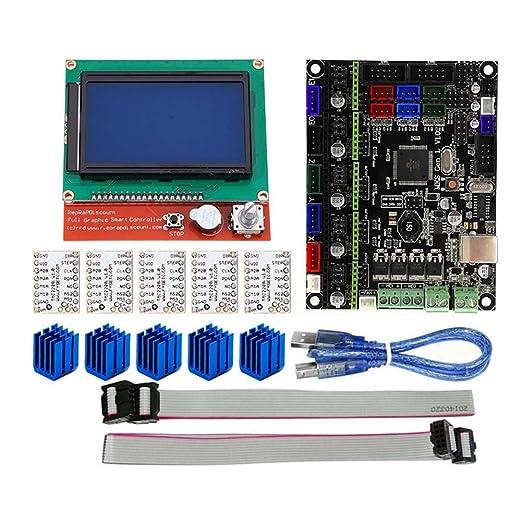 Lanceasy 3D Kit de impresión, para MKS Gen L Compatible con 12864 ...