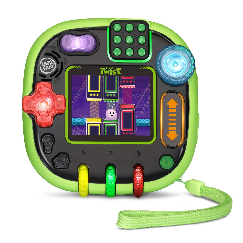 LeapFrog RockIt Twist Handheld Learning Game System, Green by LeapFrog