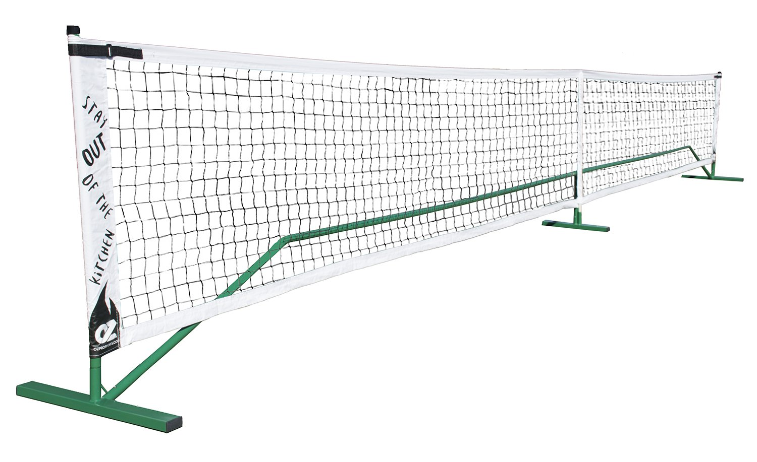 Indoor or Outdoor Portable Pickleball Net System | Stay Out Of The Kitchen by OZ by OZ