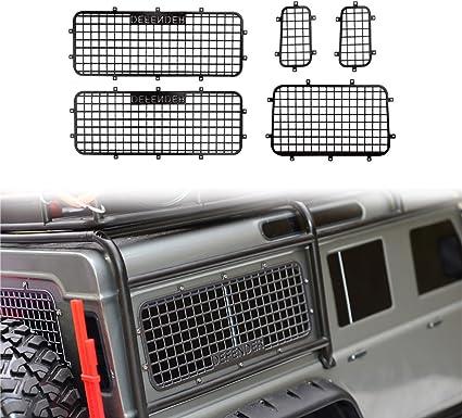 INJORA TRX4 T4 Metal Window Mesh Protective Net for 1//10 RC Crawler Car Traxxas