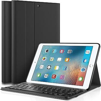 IVSO Teclado Estuche para Nuevo iPad 9.7