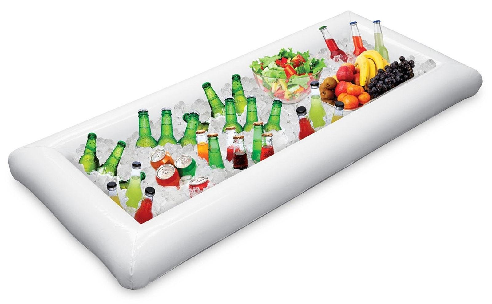 Inflatable Serving Bar Salad Buffet Ice Cooler Picnic Drink Table Party Camping by rungrueng