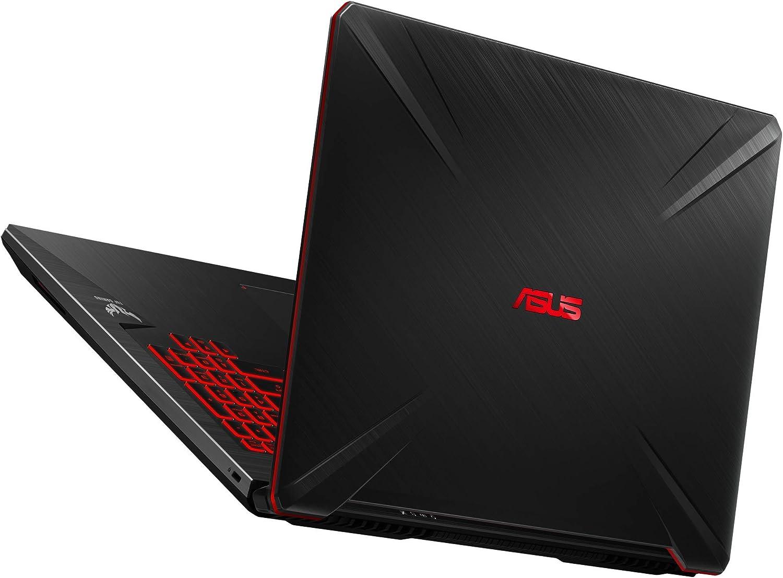 Asus Tuf Gaming Fx705gd Ew106 Portátil Gaming De 17 3 Fullhd Intel Core I7 8750h 16gb Ram 1tb Hdd 256gb Ssd Nvidia Geforce Gtx1050 4gb Sin Sistema Operativo Negro Teclado Qwerty Español