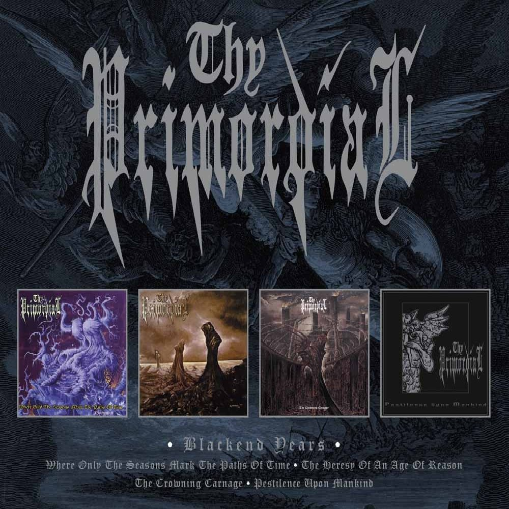 CD : Thy Primordial - Blackend Years (4PC)