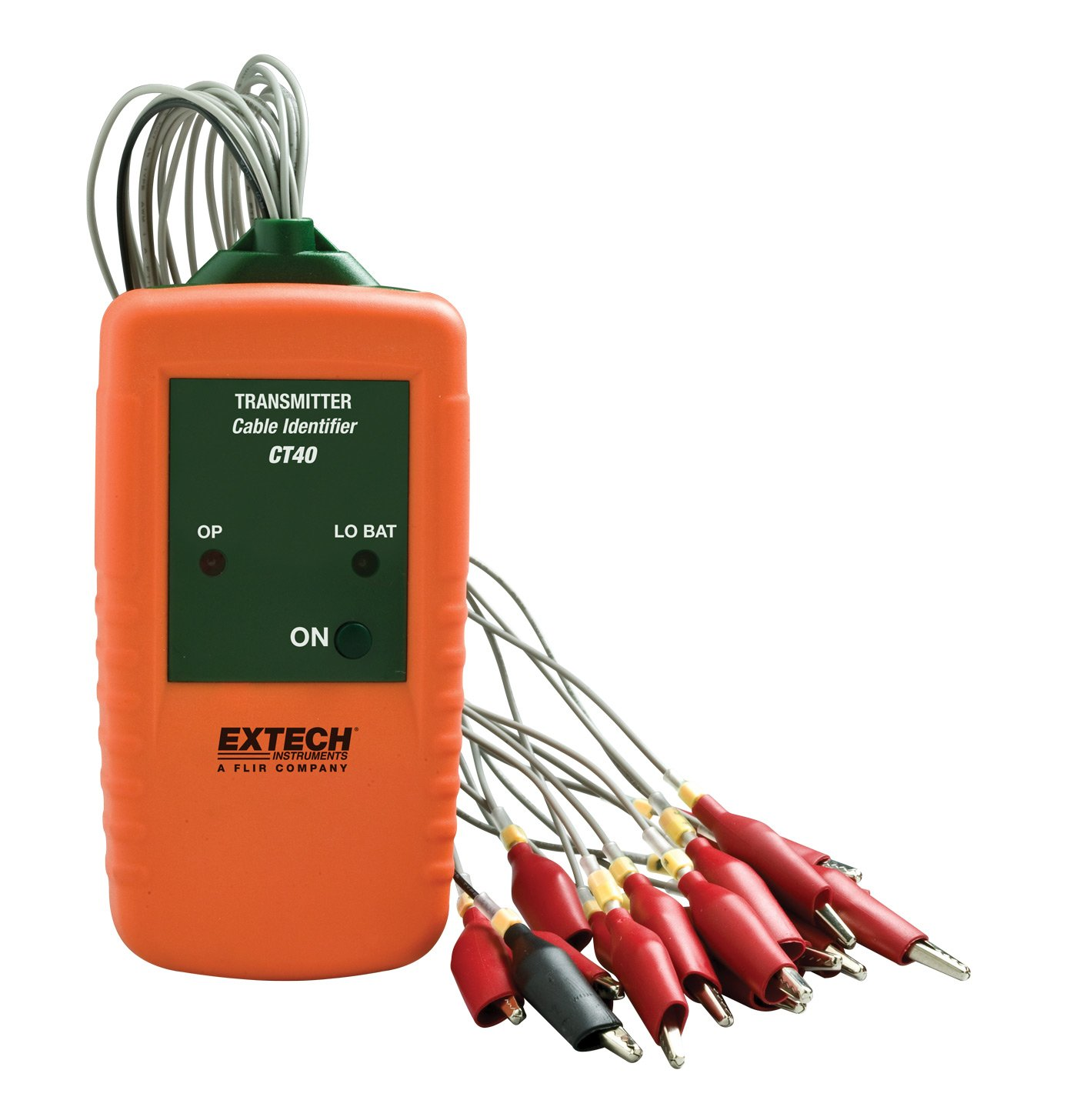 Extech Ct40 Cable Identifier Tester Kit Electrical Testers Free Stock Photography Electric Meter Messy Installation