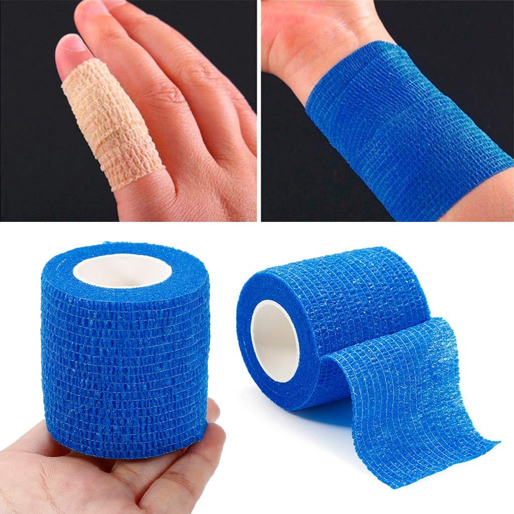 Kimruida Self Adhesive Elastische Bandage Medizinische Verbandskasten Bunte Band 5 Cm X 4,5 Mt Neu F/ür Erwachsene /& Haustiere