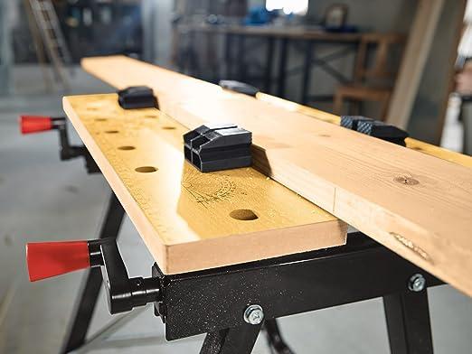 Tavolo Da Lavoro Powerfix : Powerfix banco da lavoro portata fino a kg altezza di